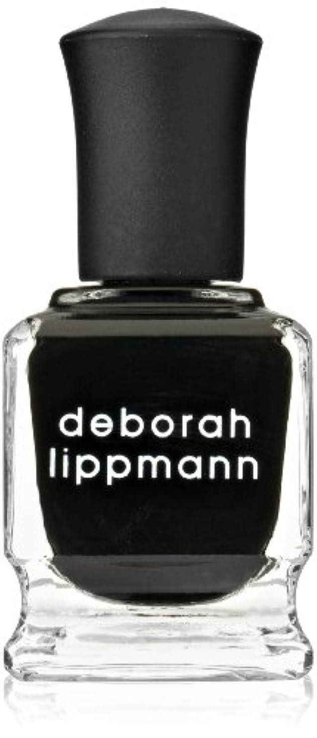 夕食を食べる練習リスキーな[Deborah Lippmann] デボラリップマン フェイド トゥ ブラック FADE TO BLACK マットなブラック。 発色よく透けずにしっかり色付きます カッコイイ、インパクトのあるネイルポリッシュです 容量...