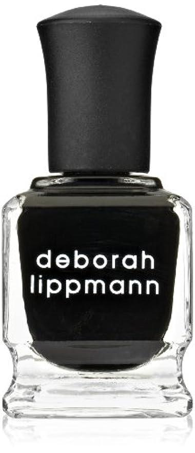 解凍する、雪解け、霜解け軍団フェデレーション[Deborah Lippmann] デボラリップマン フェイド トゥ ブラック FADE TO BLACK マットなブラック。 発色よく透けずにしっかり色付きます カッコイイ、インパクトのあるネイルポリッシュです 容量...