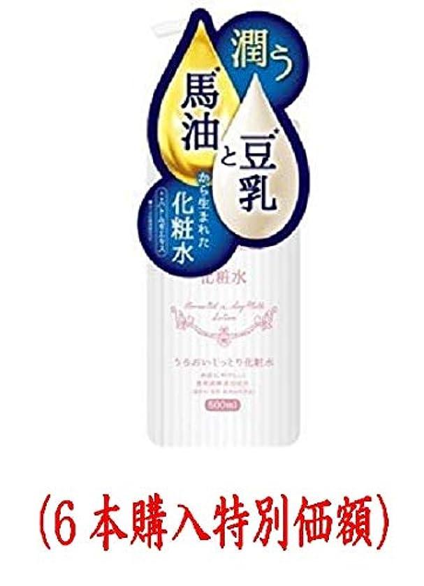 場所廃止するプレミアム馬油と豆乳の化粧水(500mL)(6本購入価額)