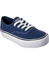 (スケッチャーズ) Skechers レディース シューズ?靴 スニーカー Marley Blueprint Flatform Sneaker [並行輸入品]