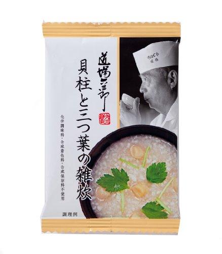 道場六三郎 貝柱と三つ葉の雑炊 16g×8箱