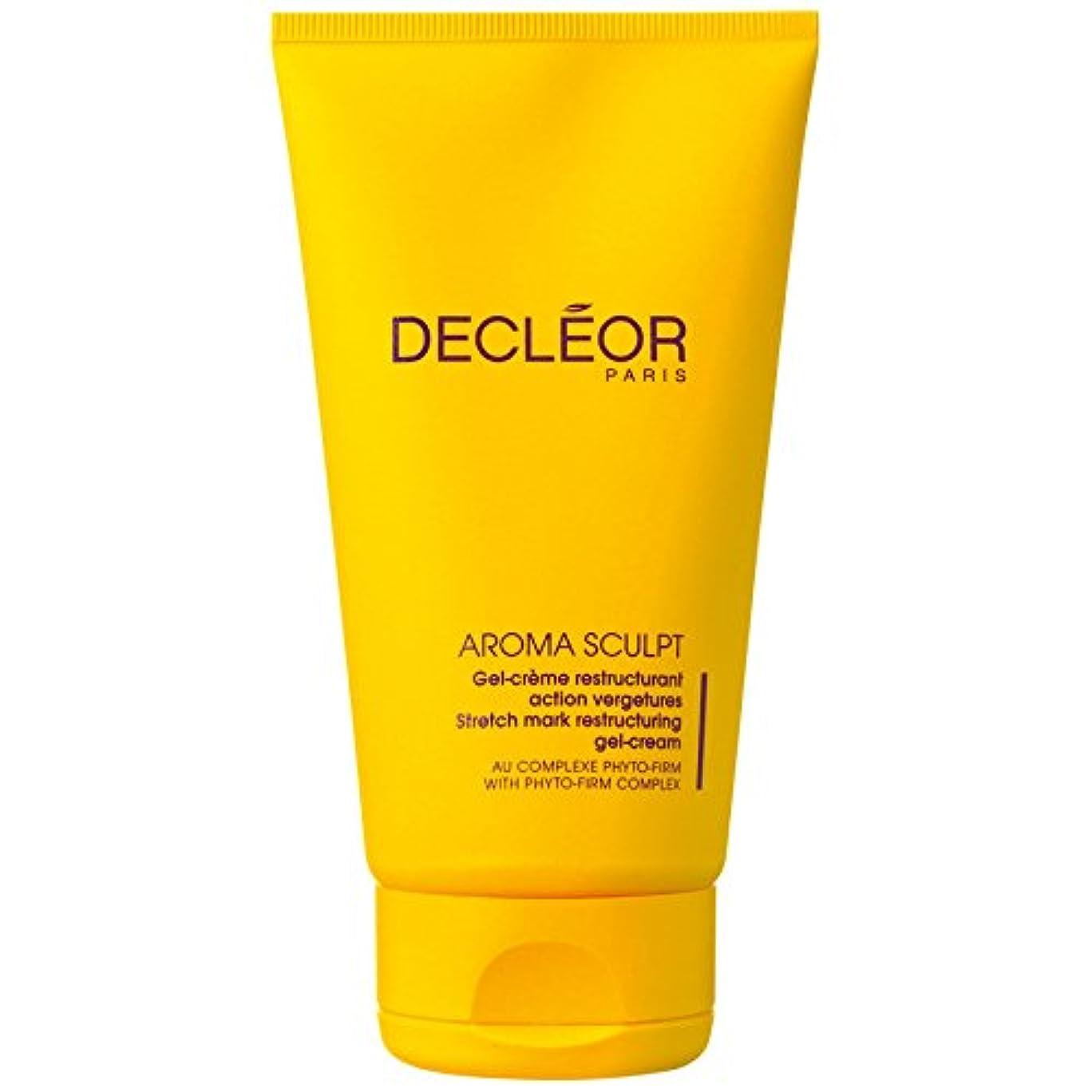 時折調子等々[Decl?or] デクレオールアロマスカルプトストレッチマークリストラゲルクリーム150ミリリットル - Decl?or Aroma Sculpt Stretch Mark Restructuring Gel Cream 150ml [並行輸入品]