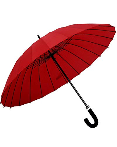 Orienex 長傘 レディース傘 高強度24本骨 紳士傘 ...
