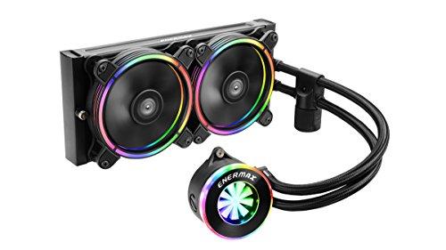 ENERMAX アドレッサブル型RGB LED水冷CPUクーラー LIQFUSION 240mm ELC-LF240-RGB