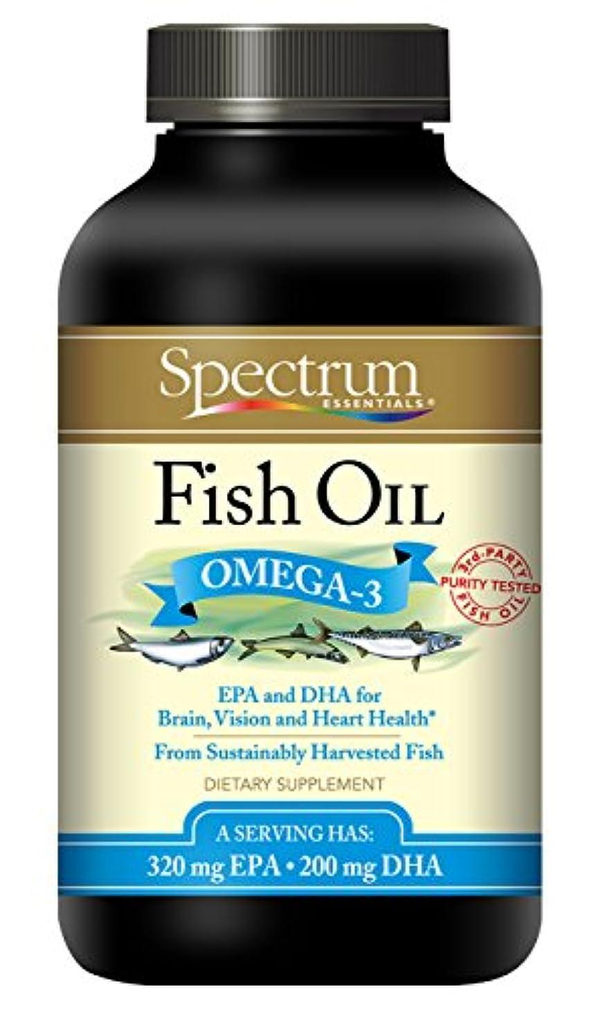 海外直送品Spectrum Essentials Fish Oil, Cp250
