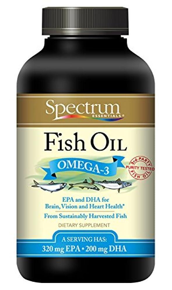 早熟顕著冷笑する海外直送品Spectrum Essentials Fish Oil, Cp250