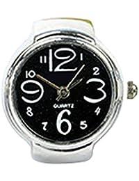 AMAA 指時計 指輪時計 ジュエリー ウォッチ 指もと 文字盤 時計 腕時計 指輪 シンプル
