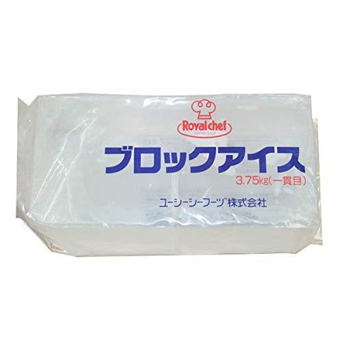 【業務用】ロイヤルシェフ ブロックアイス 3.75kg