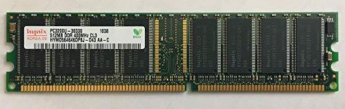 SKハイニックス ハイニックス純正品 DIMM DDR SDRAM PC3200 512MB 400