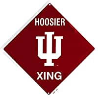 Signs 4Fun sd67025Indiana Hoosier Xing、Crossing Sign