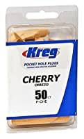 Kreg ToolP-CHEKreg Pocket Hole Plugs-50PK CHERRY WOODEN PLUGS (並行輸入品)