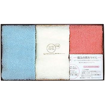 エアーかおる タオルギフトセット 3色 35×19.5×6cm(箱) 「 ベビマム 」 ふわふわ フェイス & ウォッシュ 5003-0040 3個セット