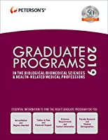 Graduate Programs in the Biological/Biomedical Sciences & Health-Related Medical Professions 2019 (Grad 3)