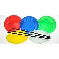 スピニングプレート(皿回し) 44007023 色:レッド