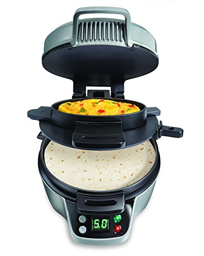 Hamilton Beach 25495 Breakfast Burrito Maker, Silver [並行輸入品]