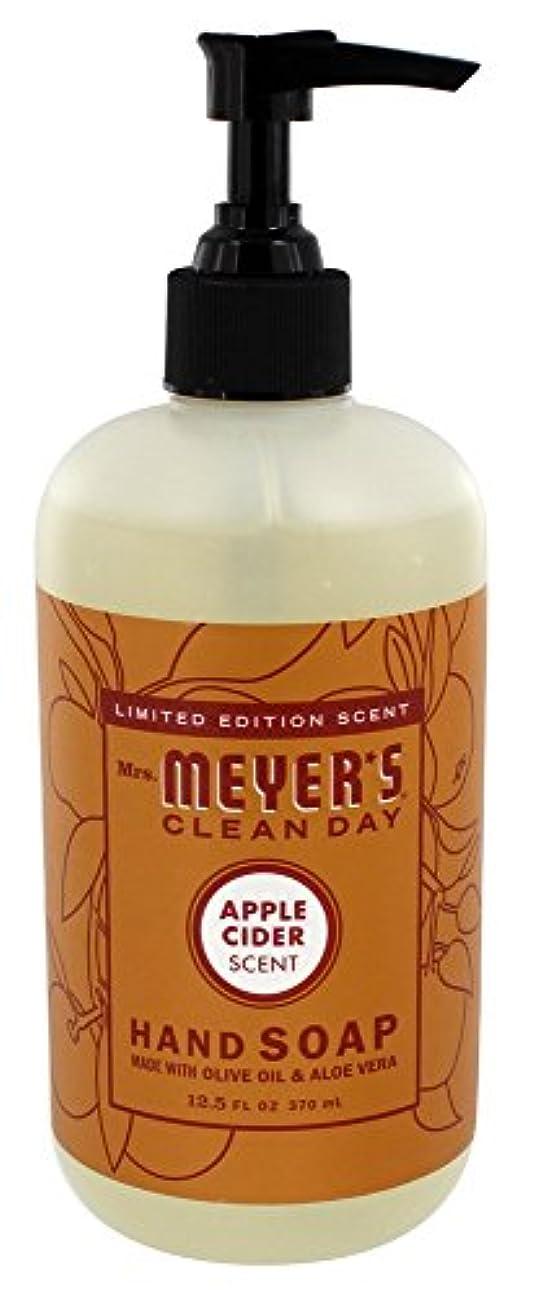 お嬢保守可能北へLiquid Hand Soap - Apple - Case of 6 - 12.5 oz by Mrs. Meyer's