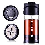 SULIVES フレンチプレス 480ml コーヒー プレス コーヒーメーカー 珈琲 紅茶 ブラック
