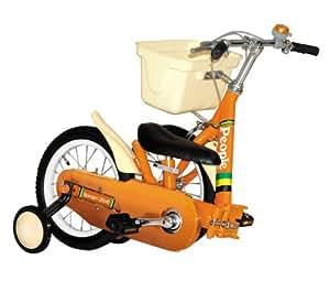 いきなり自転車 折りたたみ式 14インチ マーマレードオレンジ
