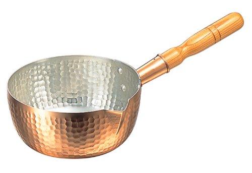 丸新銅器 雪平鍋 銅 21cm