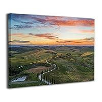 HANSHA-WKH フォトフレーム 絵 アートパネル 静物 アートフレーム 壁掛け フレーム装飾画 ウォールアート 自然 風景 山 空 雲 キャンバス印刷 モダン 取り付けやすい 30*40cm