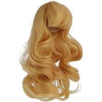 Baoblaze 1/4 BJD SDドルフィードールズ適用 美しい 人形ウィッグ 長い髪 ヘア DIY パーツ 4色選べる  - ブロンド