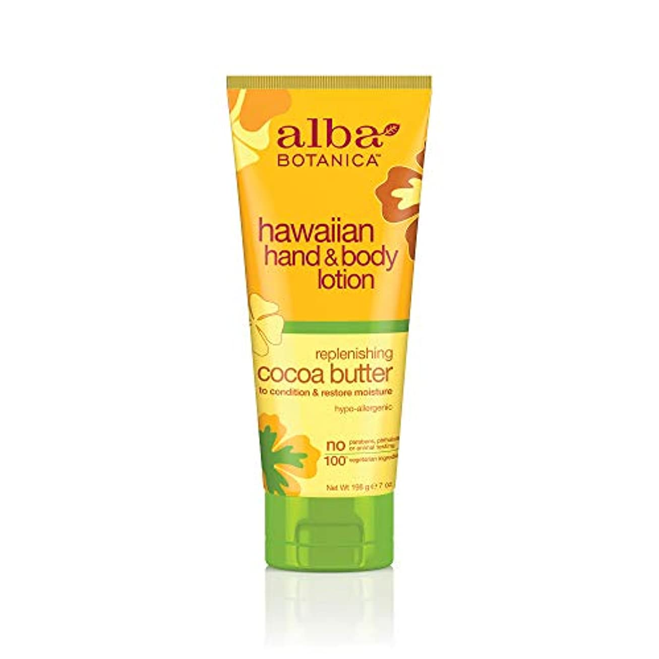 通信するコーラス泳ぐ海外直送品 Alba Botanica Hawaiian Hand & Body Lotion, Cocoa Butter 7 oz