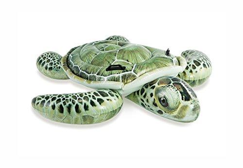 [해외]INTEX (인텍스) 튜브 리얼 바다 거북 라이드 온 191 × 170cm 57555 [일본 정품]/INTEX (INTEX) floating wheel real sea turtle rideon 191 × 170 cm 57555 [Japanese genuine]
