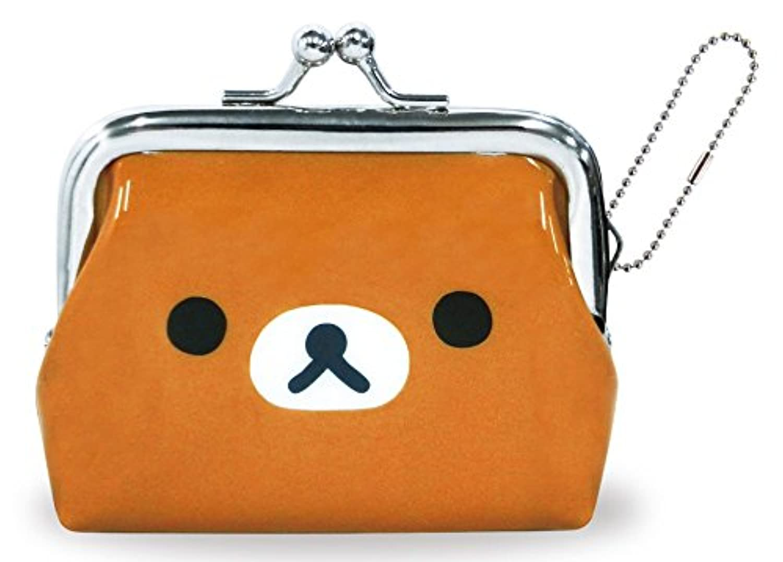 リラックマ 財布 がま口 スタンダード フェイス RM-4010