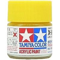 タミヤカラー アクリルミニ X-8 レモンイエロー 光沢