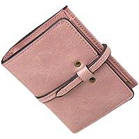 ヨーロピアンスタイルショート財布レザーハンドバッグMini pouch-pink