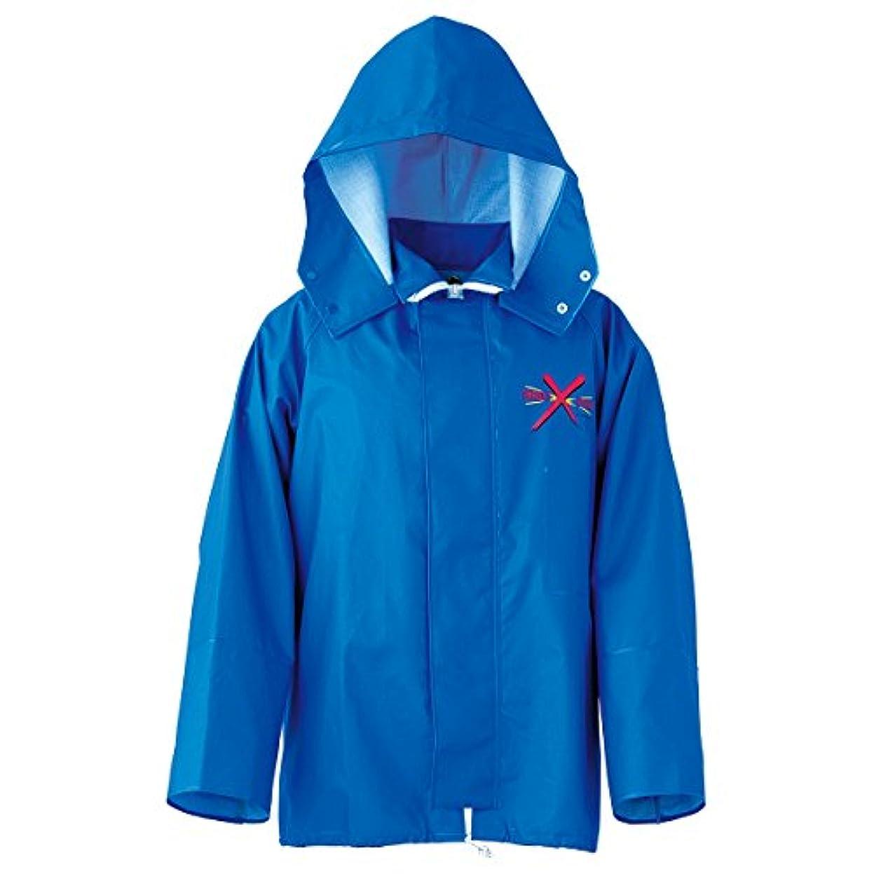 議題フリッパーポーチターゲットポイント(TARGET POINT) 産業用レインウェア ジャケット 12070152 ブルー L
