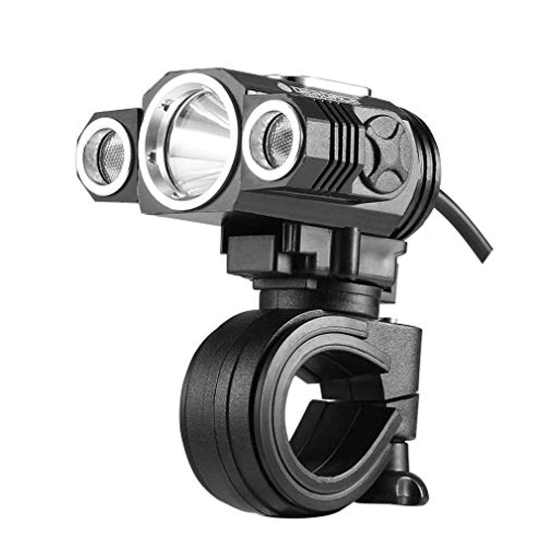 Oral Dentistry 自転車ライト サイクリングライト USB充電式 自転車用ヘッドライト LEDヘッドライト 自転車前照灯 防振防災防水 小型 取り付け簡単 耐久性 高品質