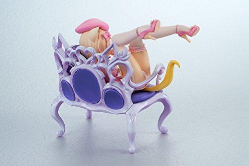 ふんわり猫と椅子 1/8スケール PVC製 塗装済み 完成品フィギュア