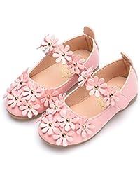 フォーマルシューズ ガールズ 子供靴 ガールズシューズ ドレスシューズ 女の子 キッズ プリンセス風 可愛い花 プレゼント プリンセス風 3色展開
