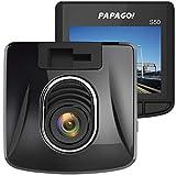 パパゴ ドライブレコーダー 高画質フルHD 200万画素 ガラスレンズ HDR Gセンサー CMOSセンサー 常時録画 監視機能 GoSafe S50 GSS50-32GB