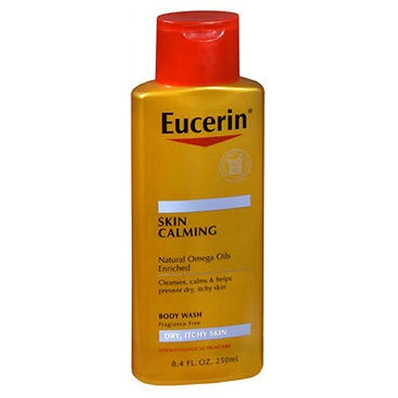 パッチ限界癒すユーセリン スキン クライミング ボディーウォシュ 乾燥した肌、かゆみのある肌向け用 無香料 (250 ml) (並行輸入品)
