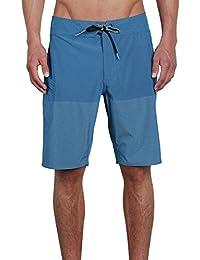ボルコム スイムウェア スイムウェア Lido Heather Mod 20in Board Short - Men' Camper Blu [並行輸入品]