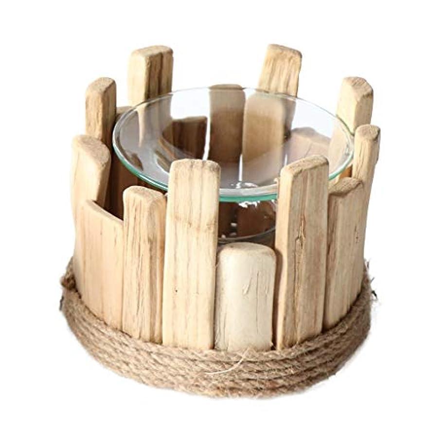 未知のスピン哲学的家庭用木材香ホルダーエッセンシャルオイルアロマ燭台香バーナー寝室アロマセラピー炉香バーナーホルダー (Color : C)