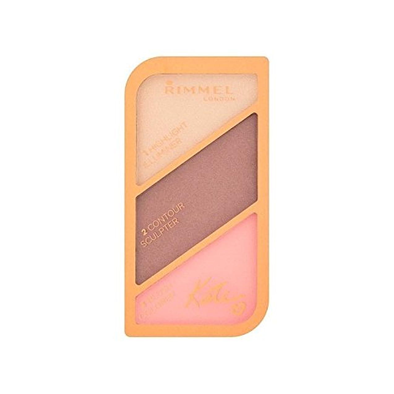 材料欠席蒸気リンメルケイト?モスの彫刻パレット黄金のブロンズ003 x2 - Rimmel Kate Moss Sculpting Palette Golden Bronze 003 (Pack of 2) [並行輸入品]