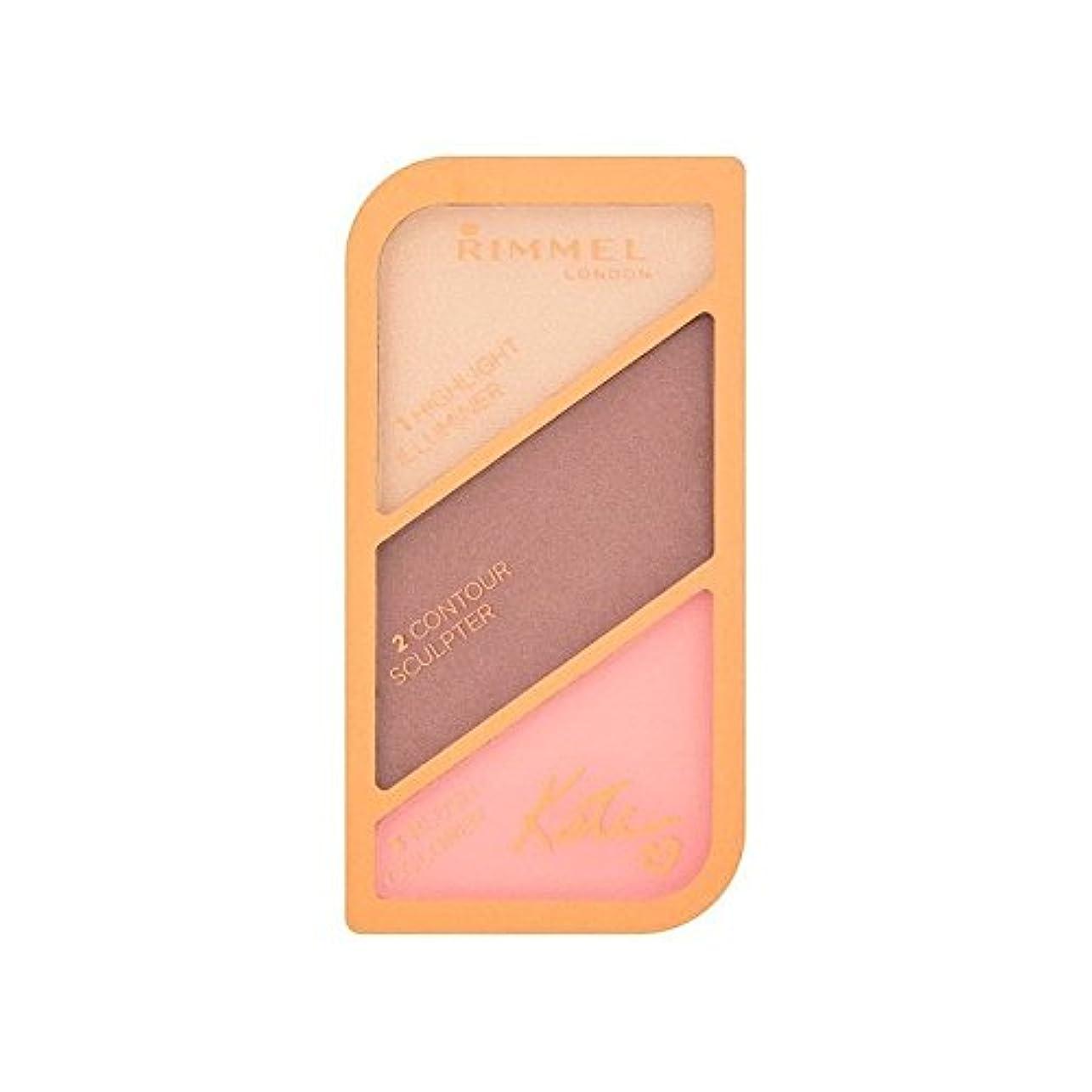 乱す喜んで殺すRimmel Kate Moss Sculpting Palette Golden Bronze 003 (Pack of 6) - リンメルケイト?モスの彫刻パレット黄金のブロンズ003 x6 [並行輸入品]