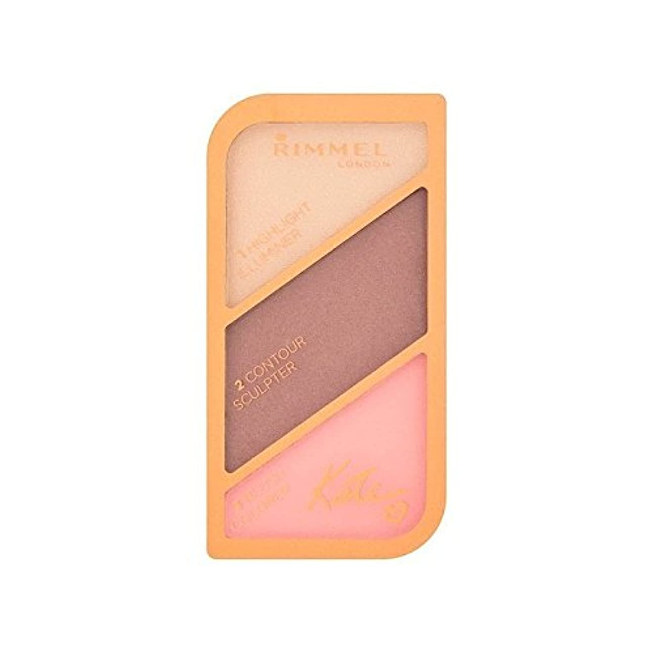 チーズ委任タッチリンメルケイト?モスの彫刻パレット黄金のブロンズ003 x2 - Rimmel Kate Moss Sculpting Palette Golden Bronze 003 (Pack of 2) [並行輸入品]