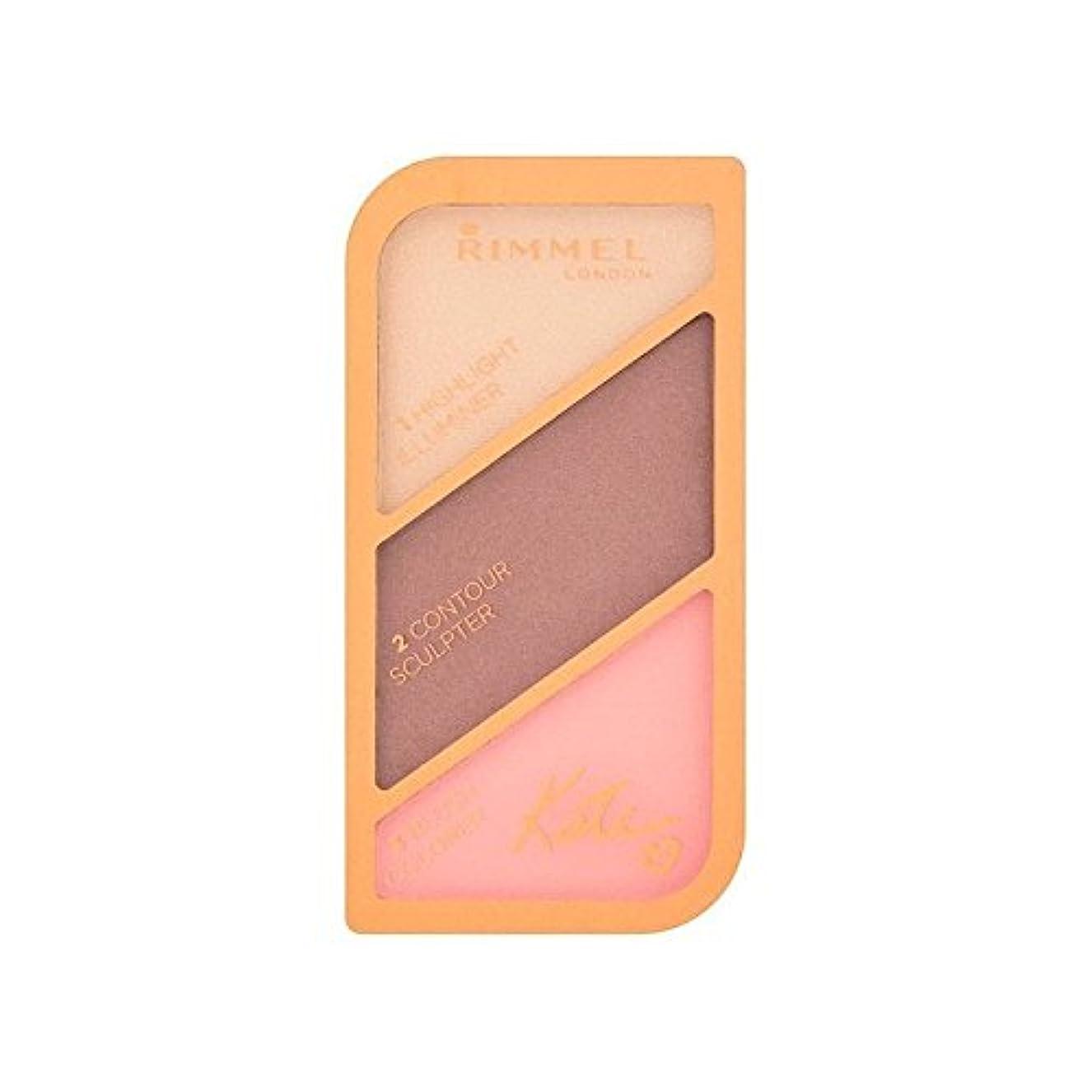 前進コンペはがきRimmel Kate Moss Sculpting Palette Golden Bronze 003 (Pack of 6) - リンメルケイト?モスの彫刻パレット黄金のブロンズ003 x6 [並行輸入品]