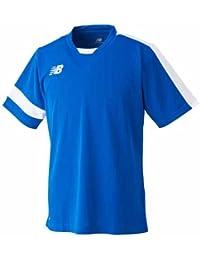 new balance(ニューバランス) メンズ ゲームシャツ ロイヤルブルー×ホワイト JMTF6193-RBT