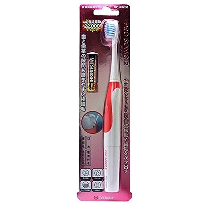 保護一貫性のないネーピア音波振動歯ブラシPROSONIC2MP-DH200PK