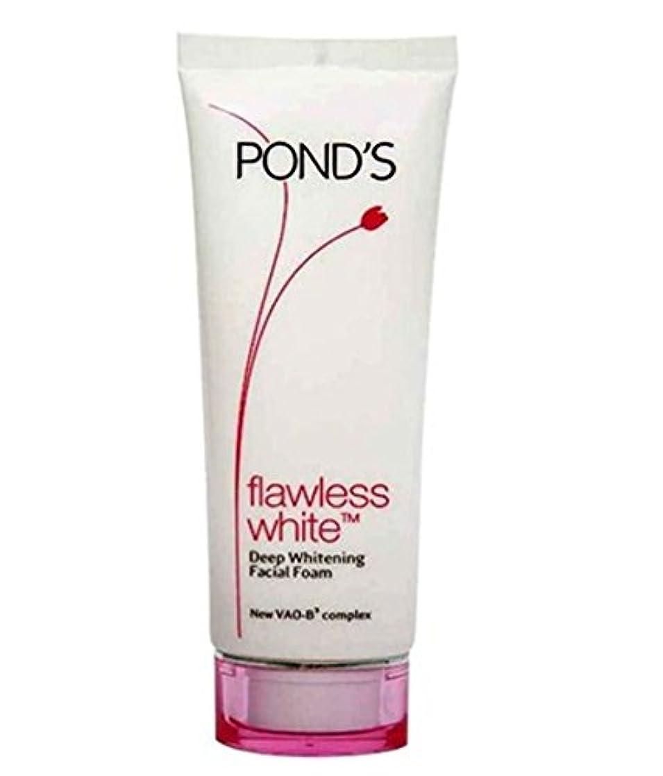 透過性美容師本Pond's Flawless White Deep Whitening Facial Foam, 100g