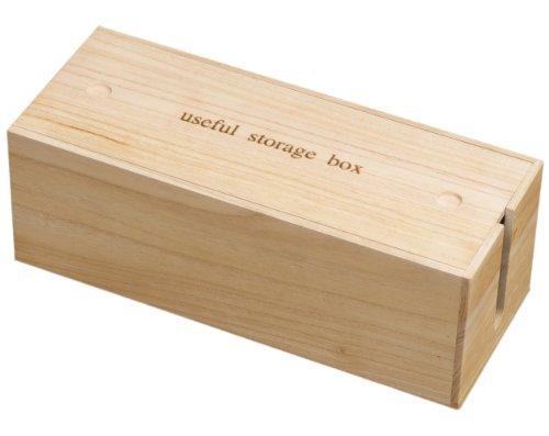 桐ケーブルボックス IW-0001