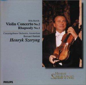 バルトーク:ヴァイオリン協奏曲第2番、ラプソディ第1番