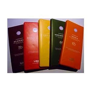 高級フランス板チョコレートセット ヴェイス 5種 タブレット