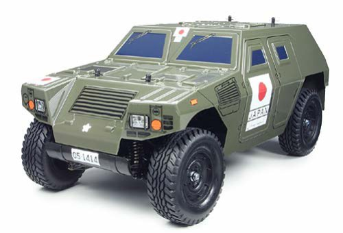 1/10 電動ラジオコントロールカー シリーズ 軽装甲機動車