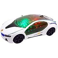 ThinIce 子供用 3D ライトモデル 車 電動玩具 クリエイティブ シミュレーション 音楽 車 プッシュ&プルトイ